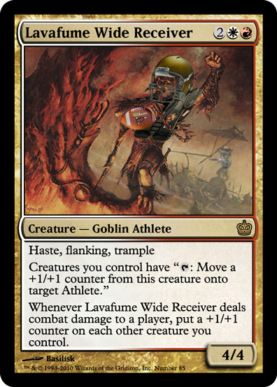 Lavafume-Wide-Receiver