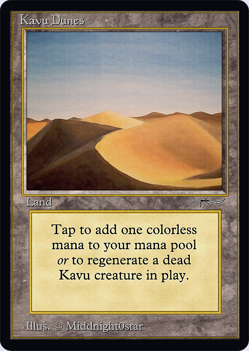 Kavu Dunes