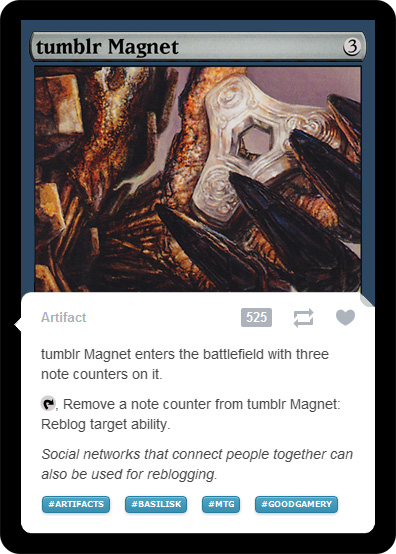 tumblr Magnet